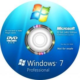 Windows 7 Professionnel 32BITS