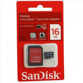 Carte Mémoire SanDisk 16GB