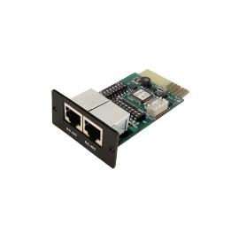 Carte SNMP pour la gamme DX 1-20 Kva