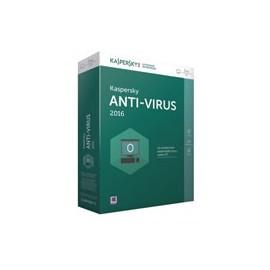 Antivirus 2016 1 an 3 postes KAV