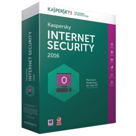 Internet Security 2016 1 an 3 postes KIS