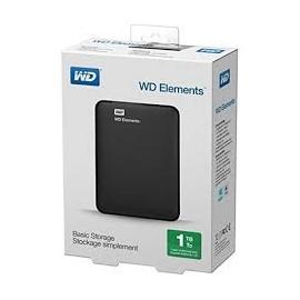 WD 4TB Portable Exter Hard Drive USB 3.0-Black 2.5