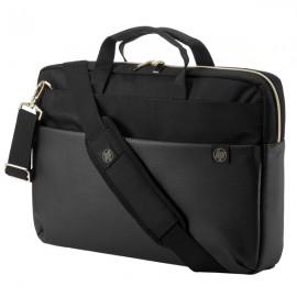 HP Pavilion Accent Briefcase 15 Black/Gold