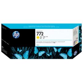 Cartouche d encre jaune HP 772 Designjet/ 300 ml