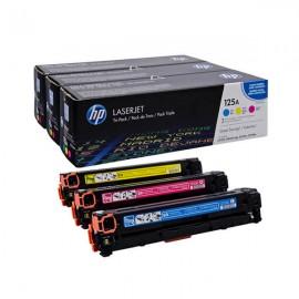 HP 125A CYM Tri-Pack LJ Toner Cartridge