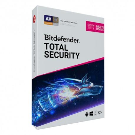 BITDEFENDER TOTAL SECURITY 2019 (3PC/1YR)