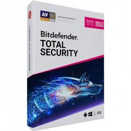 AntiVirus BITDEFENDER Total Security ( 3 postes )